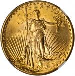 1925 Saint-Gaudens Double Eagle. MS-65 (NGC).