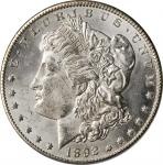 1892-CC Morgan Silver Dollar. MS-62 (PCGS). OGH.