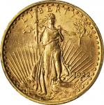 1922 Saint-Gaudens Double Eagle. MS-63 (PCGS).