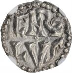 "FRANCE. Carolingians. Denier, ND (771-793/4). ""Ardis"" (Uncertain Provencal) Mint. Charlemagne. NGC M"