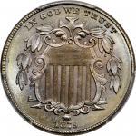 1879 Shield Nickel. MS-67 (PCGS).