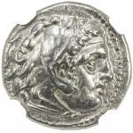 MACEDONIAN KINGDOM: Philip III Arrhidaios, 323-317 BC, AR drachm 404。26g41, Sardes, Price-P94, struc