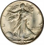 1934 Walking Liberty Half Dollar. MS-65 (PCGS).