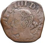 Italian coins;NAPOLI Filippo IV (1621-1665) Grano 1646 - Magliocca 85 CU (g 8.54) RRR - qBB;70
