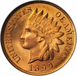 1899 Indian Cent. MS-65 RD (PCGS). CAC.