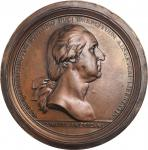 Washington Before Boston. Electrotype shell of a circa 1788-1789 unadopted Paris Mint obverse. Musan