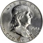 1962 Franklin Half Dollar. MS-66 FBL (PCGS).