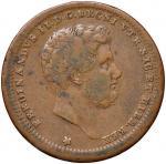 Italian coins;NAPOLI Ferdinando II (1830-1859) 2 Tornesi 1842 - Magliocca 734 CU (g 6.99) - BB;20