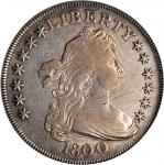 1800 Draped Bust Silver Dollar. BB-195, B-15. Rarity-4. VF-20 (PCGS).