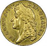 James II (1685-88), Guinea, 1688, second laureate bust left, rev. crowned shields cruciform, sceptre