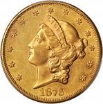 1876-S Liberty Head Double Eagle. AU-55 (PCGS). CAC.