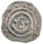 CHAGHATAYID KHANS: temp. Qaidu, 1270-1302, AR ½ dirham (0.72g), Taraz, ND, A-1985D, Zeno-5282 (same