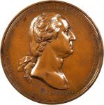 1776 (1889-1904) Washington Before Boston Medal. Philadelphia Mint Restrike. Mahogany Bronze. 67.7 m