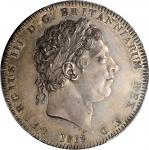 GREAT BRITAIN. Crown, 1819 Year LIX. London Mint. George III. PCGS MS-64 Gold Shield.