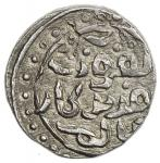 GREAT MONGOLS: Anonymous, ca. 640s-650s AH, AR dirham (3.11g), NM, ND, A-1978K, obverse in Persian,