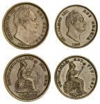 William IV (1830-37), Half-Farthing, 1837, bare head right, rev. Britannia seated right, national em