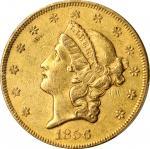 Lot of (4) 1856 Liberty Head Double Eagles. AU-50 (PCGS).