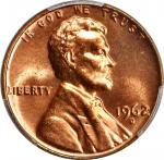 1962-D Lincoln Cent. MS-67 RD (PCGS).