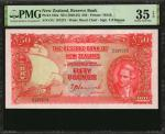 NEW ZEALAND. Reserve Bank of New Zealand. 50 Pounds, ND (1940-55). P-162a. PMG Choice Very Fine 35 E