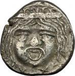 Etruscan Coins, Etruria, Populonia. AR 20-Asses, c. 300-250 BC. Vecchi EC I, 38.41- 46 (O5/R6), HN I