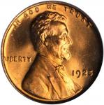 1925 Lincoln Cent. MS-66 RD (PCGS). OGH.