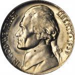 1939 Jefferson Nickel. FS-801. Doubled Die Reverse. MS-65 (NGC). OH.