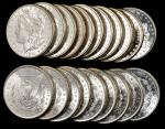 Lot of (39) 1881-S Morgan Silver Dollars. Average MS-60 or Finer.