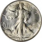 1923-S Walking Liberty Half Dollar. MS-64 (PCGS). OGH.