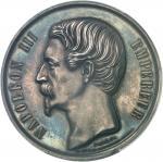 FRANCE Second Empire / Napoléon III (1852-1870). Médaille, lancement de la construction de l'Hôtel-D