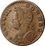 1786 Connecticut Copper. Miller 4.1-G, W-2525. Rarity-3. Mailed Bust Left. VF-30 (PCGS).