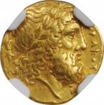 SICILY. Syracuse. Timoleon & The Third Democracy, ca. 345-317 B.C. AV 30 Litrai (1/4 Stater) (2.12 g