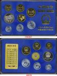 1984年中华人民共和国流通硬币套装 完未流通