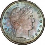 1904-O Barber Half Dollar. MS-67 (PCGS).