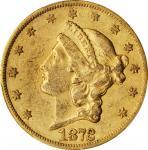 1872-CC Liberty Head Double Eagle. EF-45 (PCGS). CAC.