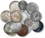 清代至民国铜币一组19枚 极美