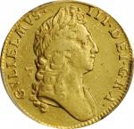 GREAT BRITAIN. Guinea, 1695. London Mint. William III. PCGS Genuine--Cleaned, EF Details Gold Shield