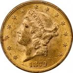 Lot of (3) 1879 Liberty Head Double Eagles. MS-60 (PCGS).