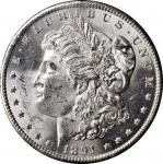 1891-CC GSA Morgan Silver Dollar. VAM-3. Top 100 Variety. Spitting Eagle. MS-61 (NGC). CAC.