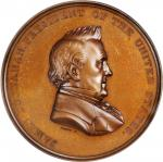 1860 (post-1861) Japanese Embassy Commemorative Medal. By Anthony C. Paquet. Julian CM-23. Bronzed C