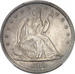 USA République fédérale des États-Unis d'Amérique (1776-à nos jours). 1/2 dollar à la Liberté assise