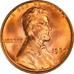 1960 Lincoln Cent. Small Date. MS-67 RD (PCGS).