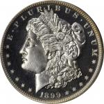 1899 Morgan Silver Dollar. Proof-66+ Cameo (PCGS). CAC.