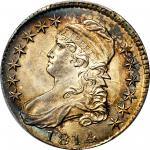 1814 Capped Bust Half Dollar. O-107. Rarity-2. MS-64 (PCGS).