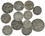 Sultans of Bengal, Nasir al-Din Nusrat (AH 925-38; AD 1519-31), Tankas (6), Tirhut Mardan (3), Khaza