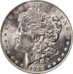 1893 Morgan Silver Dollar. MS-63 (PCGS). CAC.