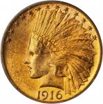 1916-S Indian Eagle. MS-62 (PCGS).