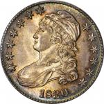 1830 Capped Bust Half Dollar. O-123. Rarity-10. Large 0. MS-65 (PCGS).