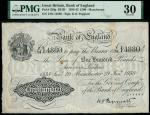 Bank of England, Kenneth Oswald Peppiatt (1934-1949), 100, Manchester, 29 January 1938, serial numbe