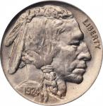 1924 Buffalo Nickel. MS-65 (PCGS). CAC. OGH.