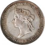 HONG KONG. Dollar, 1867. PCGS Genuine--Cleaning AU Details Secure Holder.